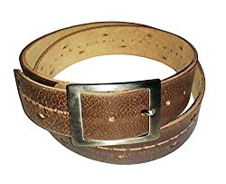 SANSHUL MEN BELT (SA-37 BROWN 30-42 INCH)