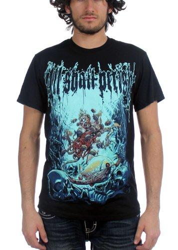 All Shall Perish - Uomo Deep Sea T-Shirt in Nero, XX-Large, Nero