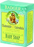 Badger Baby Soap Organic Chamomile Calendula BabyBabeInfant Little ones