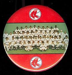 1973 Boston Red Sox Team Photo Pinback Stadium Button