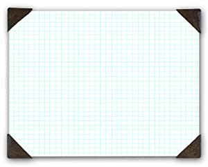 House of Doolittle Quadrille Refillable Pad, 22 x 17 Inch, 40 Quadrille, 1/4 Inch Ruled White Sheets, Recycled (HOD41003)