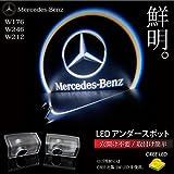 カーテシランプ ロゴ CREE LED ベンツ 純正交換 Aクラス W176/Bクラス W246/Eクラス W212 _59550