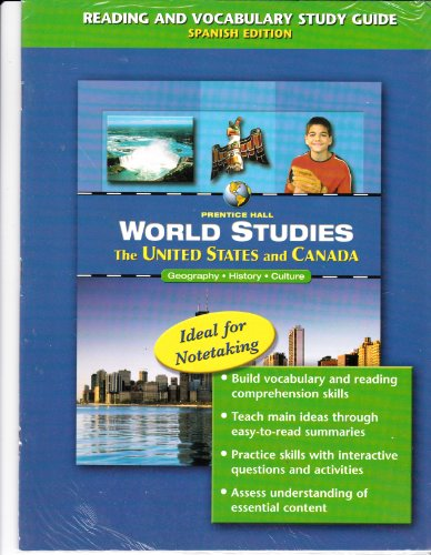 The United States and Canada Transparencies (World Studies Geography History Culture)