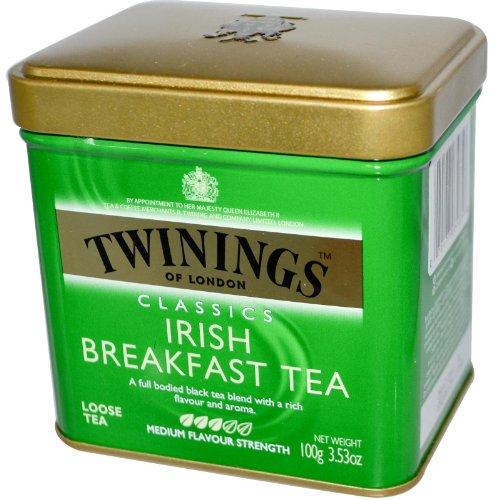 Twinings Irish Breakfast Tea - 3.53 Oz. Loose Tea Tin