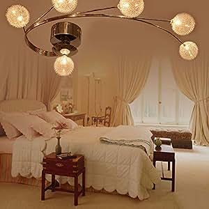 ANNT Modern Home Ceiling Light Fixture Flush Mount Chandeliers L