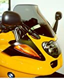 MRA-shield, BMW R1100S, spoiler shield, smoke, E-m