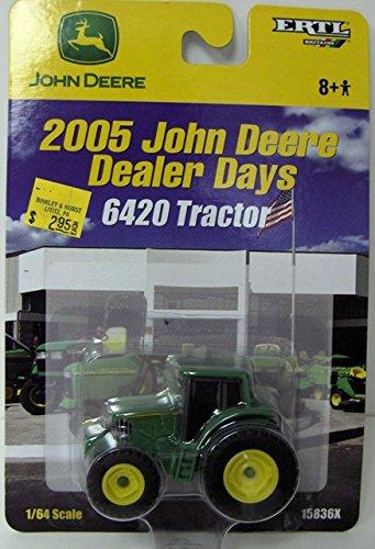 1/64th John Deere 6420 plastic `2005 Dealer Days Edition`
