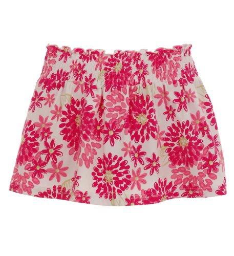 Hartstrings Girls' Floral Print Knit Skort