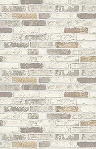 Erisman brix papier peint vinyle imitation brique en - Papier peint brique relief ...