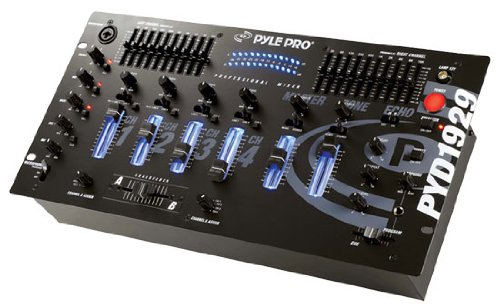 Pyle-Pro PYD1929 4 Channel Professional Mixer
