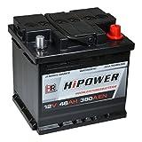 HR HiPower Autobatterie 12V 46Ah 380A