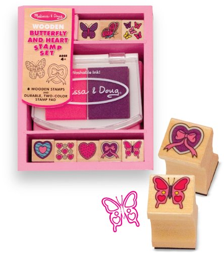 Butterfly and Hearts Stamp Set Case Pack 2 Butterfly and Hearts Stamp Set Case Pack 2