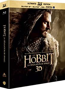 Le Hobbit - La désolation de Smaug - BLURAY 3D + 2D + DVD + DIGITAL HD Ultraviolet [Édition Ultimate - Blu-ray 3D + Blu-ray + DVD + copie digitale]