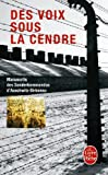 echange, troc Collectif - Des voix sous la cendre : Manuscrits des Sonderkommandos d'Auschwitz-Birkenau