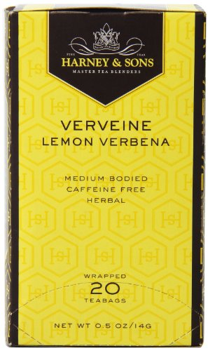 Harney and Sons Premium Tea Bags, Verveine, 20 Count