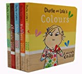 Lauren Child Lauren Child's Charlie and Lola's Children Books Collection Set (Colours, Numbers, Shapes, Animals, Opposites)