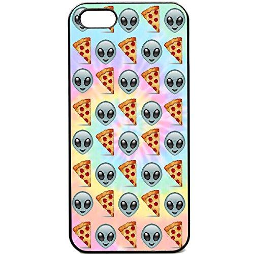 iPhone 5 / 5sPhone case Emoji pizza alien funny tie dye emojis reddit