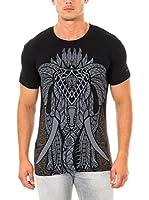 883 Police Camiseta Manga Corta Gothic Elephant (Negro)