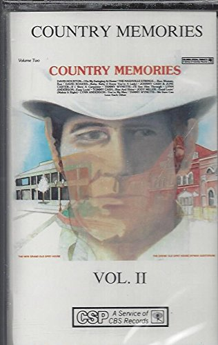 Lynn Anderson - Country Memories Vol. Ii Tommy Cash Rise And Shine (Audio Cassette) - Zortam Music