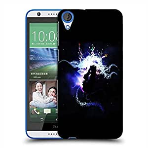 Snoogg Abstract Girl Designer Protective Phone Back Case Cover For HTC Desire 820