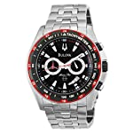 Bulova 98B121 Marine Black Bracelet Price