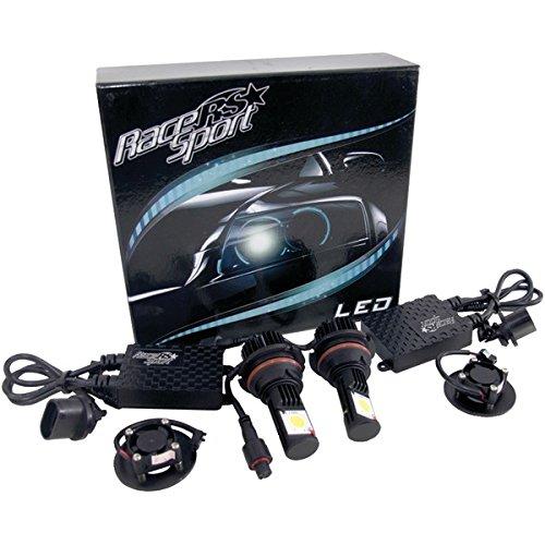 Race Sport 9007-Led-G1-Kit 5,000K True Led Headlight Conversion Kit (9007-3 Hi/Lo Base )