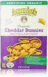 Annie's Homegrown Organic Cheddar Snack Bunnies, 6.75 Oz
