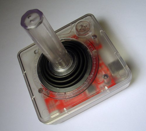 Clear Classic USB Joystick (Red)