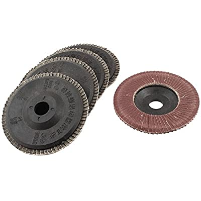 "Metal Polishing 180# 4"" OD Flap Sanding Abrasive Wheels Discs 5pcs"