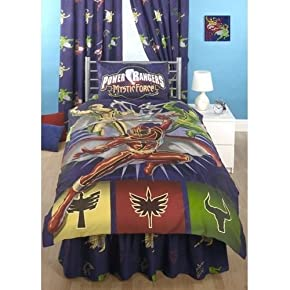 Childrens/Kids Power Rangers Mystic Force Bedding Duvet Cover Set