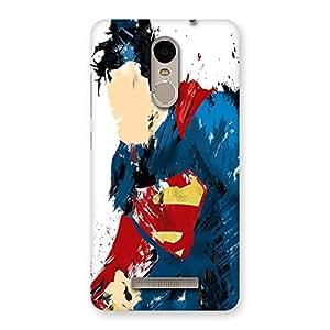 Paint Art BlueMan Back Case Cover for Xiaomi Redmi Note 3