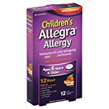 Allegra Children's Allergy, 30 mg, Oral Disintegrating Tablets, Orange Cream Flavor, 12 tablets