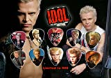 Billy Idol Guitar Pick Display (Limited to 500 Prints)