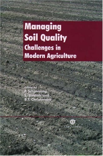 Managing Soil Quality: Challenges In Modern Agriculture