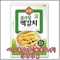 宗家(ジョンガ) ベッキムチ(水キムチ) 500g