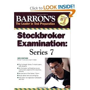 BarronA's Stockbroker Examination: Series 7 (Barron's Stockbroker Exam e-book downloads