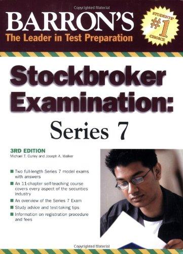 BarronÂ's Stockbroker Examination: Series 7 (Barron's Stockbroker Exam: Series 7)