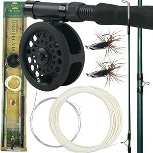 Gone Fishing(TM) Crystal River Fly Fishing Combo Kit Gone Fishing(TM) Crystal River... by Trademark Global