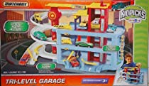 Hot Sale Matchbox Tri-Level Garage PlaySet w/ 1:64 Scale Die Cast Car