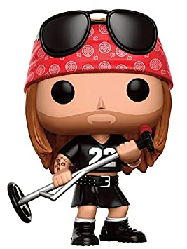 Figurine Pop! Vinyl Guns 'N' Roses 50 - Axl Rose (0cm x 9cm)