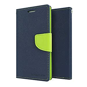 MVTH Mercury Goospery Wallet Flip Case Cover for Xiaomi Redmi 2S - Blue/Green