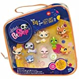 Littlest Pet Shop - Collector's Pack - 8 Pets Set & Carry Bag