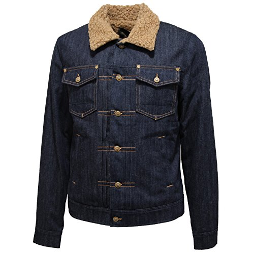8228L giubbotto jeans uomo CYCLE giacche jackets men [L]