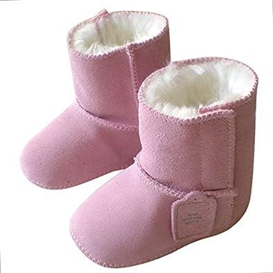 tangda 1 paire bottes de neige b b fille gar on bottines. Black Bedroom Furniture Sets. Home Design Ideas