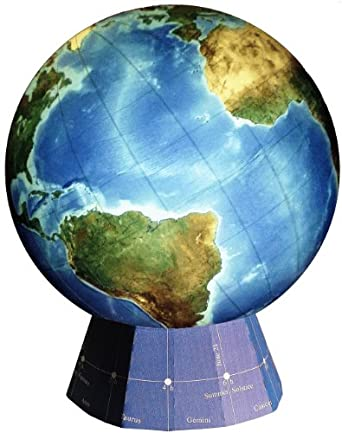 "Real World Globe RWG1050 Dry Erase Real World Globe, 18"" Diameter (Build it yourself in three to four hours)"