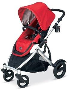 Britax B-Ready Stroller红色儿童推车$346