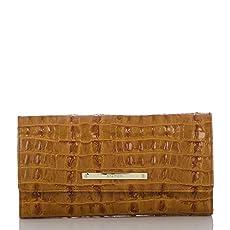 Soft Checkbook Wallet<br>Whiskey La Scala