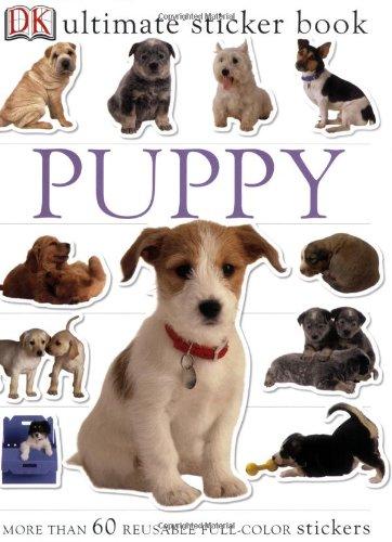 Ultimate Sticker Book: Puppy (Ultimate Sticker Books)
