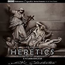 Heretics Audiobook by G.K. Chesterton Narrated by Philippe Duquenoy