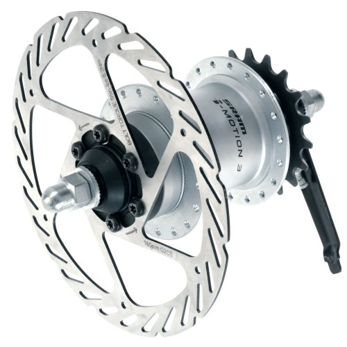 Sram I-Motion 3 36H 135mm Freewheel/Disc Hub Shift Lever